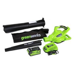 Green Works 40V Leaf Vacuum Mulcher