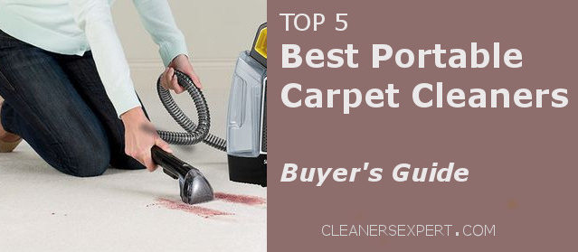 Top 5 Portable Carpet and Upholstery Cleaning Machines 2018