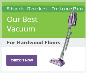 Shark Rocket DeluxePro Best Vacuum for Hardwood Floors